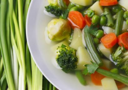 легкие овощные супы