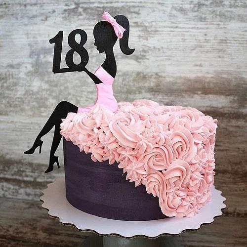 Торт на 18-летие девушке: какой выбрать?